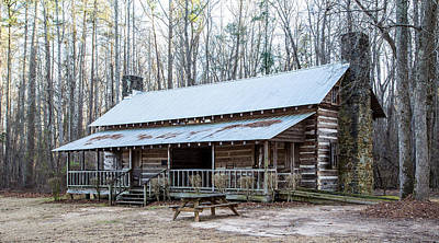 Park Ranger Cabin Art Print