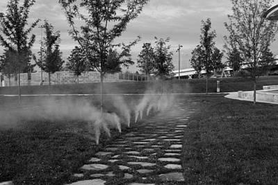 Photograph - Park Water Walkway by Robert Hebert