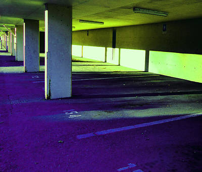 Photograph - Parkade 2 by Laurie Tsemak