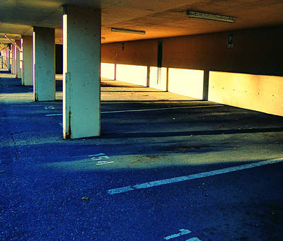 Photograph - Parkade by Laurie Tsemak