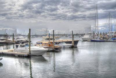 Photograph - Parked Boats by Donald Williams