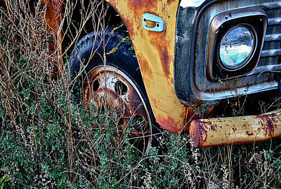 Art Print featuring the photograph Parked Fuel Oil Truck by Greg Jackson