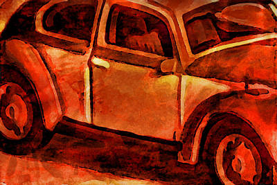 Parked Art Print by Jeff  Gettis