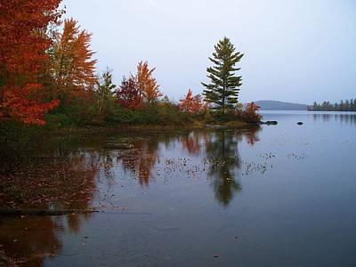 Parker Pond..before The Rain Art Print