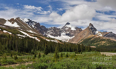 Photograph - Parker Ridge - Mount Athabasca - Hilda Peak by Charles Kozierok