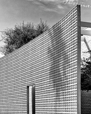 Modernism Photograph - Parker Shadow Palm Springs by William Dey