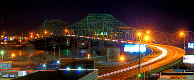 Photograph - Parkersburg Belpre Bridge by Jonny D