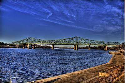 Parkersburg Wv Photograph - Parkersburg Bridge by Jonny D