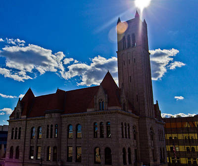 Photograph - Parkersburg Courthouse by Jonny D