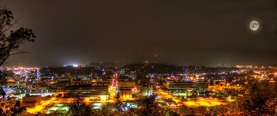 Photograph - Parkersburg Hdr At Night by Jonny D