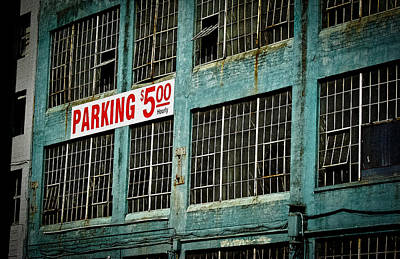 Photograph - Parking 5.00 Hourly II by Ronda Broatch