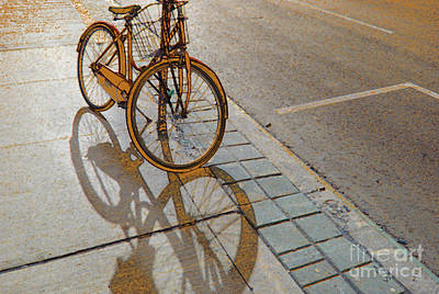 Photograph - Parking On The Street At Sundown by Nina Silver