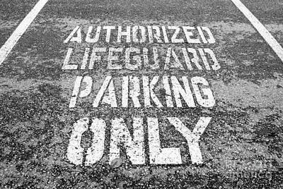 Photograph - Parking Space by Ethna Gillespie