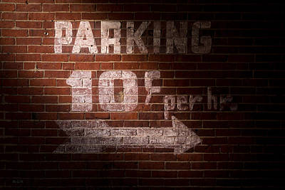 Parking Ten Cents Art Print by Bob Orsillo