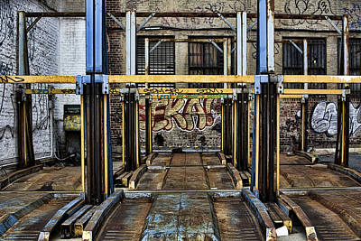 Parking Unreality Art Print by Joanna Madloch