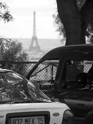 Photograph - Parking View - Paris by Lisa Parrish