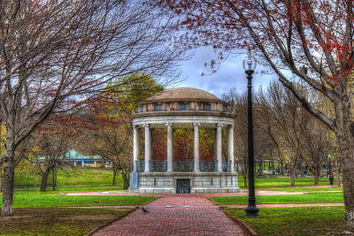 Photograph - Parkman Bandstand - Boston Common by Joann Vitali