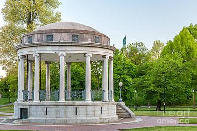 Photograph - Parkman Bandstand by Susan Cole Kelly