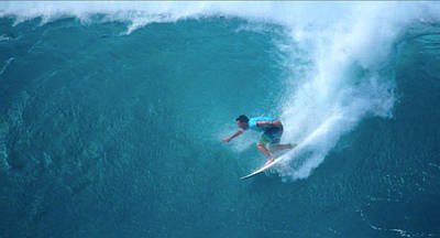 Triple Crown Of Surfing Photograph - Parko's Pipe by Kevin Smith