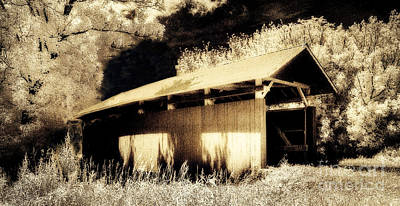 Keith Richards - Parks South Covered Bridge 35-64-02Perry County Ohio by Robert Gardner