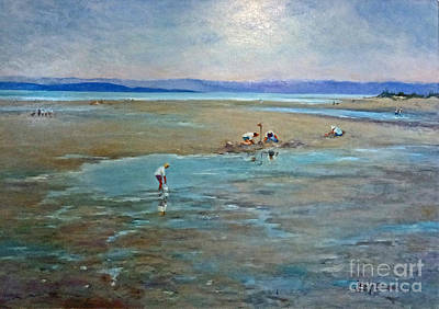 Painting - Parksville Beach by Jessamine Barron