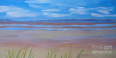 Painting - Parksville Beach by Sandra Yuen MacKay