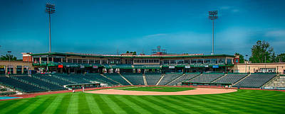 Photograph - Parkview Field Fort Wayne by Gene Sherrill