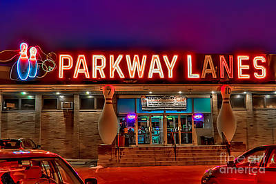 Photograph - Parkway Lanes by Anthony Sacco