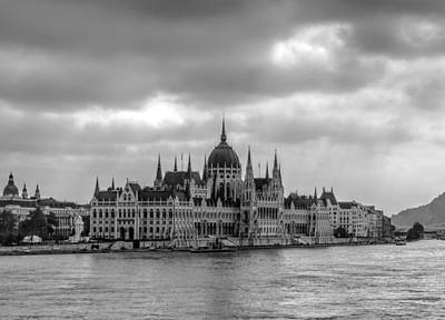 Photograph - Parliament Building Budapest by David French
