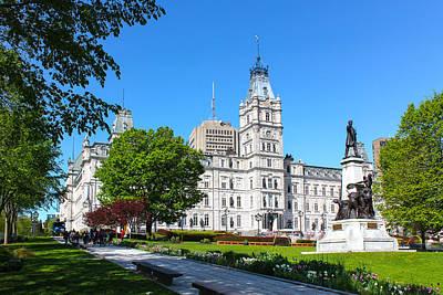 Photograph - Parliament Building Old Quebec by Carlos Diaz