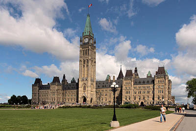 Photograph - Parliament Buildings In Ottawa Canada by Jim Vance