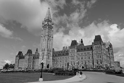 Photograph - Parliament Buildings Ottawa Canada by Jim Vance