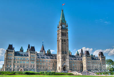 Photograph - Parliament Hill by Bianca Nadeau