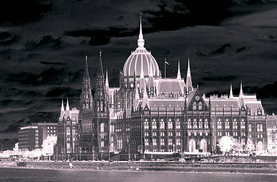 Photograph - Parliament  In Budapest by Caroline Stella