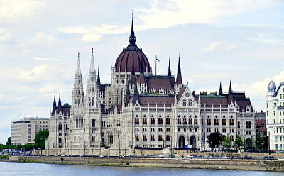 Photograph - Parliament In Budapest II by Caroline Stella