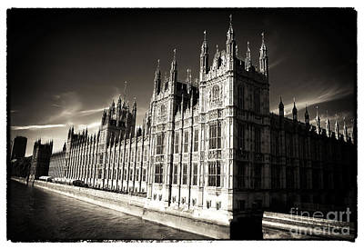 Pinhole Photograph - Parliament Light by John Rizzuto