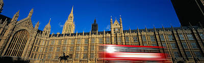 Westminster Palace Photograph - Parliament, London, England, United by Panoramic Images