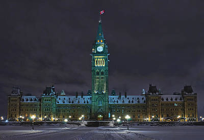 Photograph - Parliament Ottawa by Celso Bressan