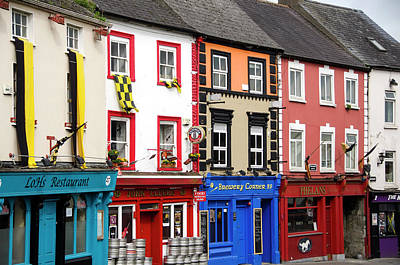 House Photograph - Parliament Street Kilkenny Ireland by Timothy O'keefe