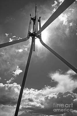Photograph - Parliament Tower In Canberra by Inge Riis McDonald