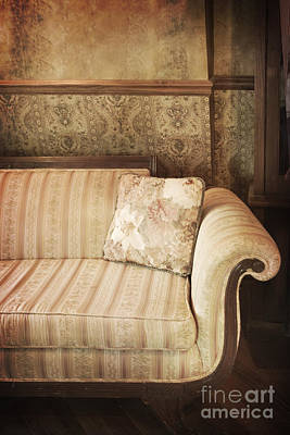 Parlor Seat Art Print by Margie Hurwich