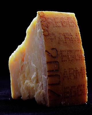 Photograph - Parmesan Cheese by Romulo Yanes