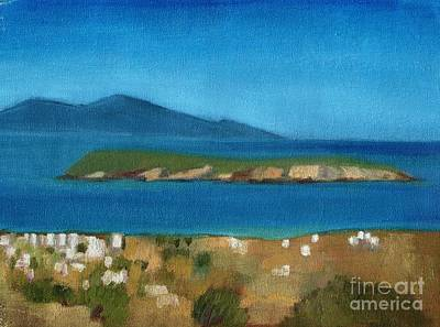 Painting - Paros Plain Air by Kostas Koutsoukanidis