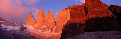 Magnificent Mountain Image Photograph - Parque National Torres Del Paine by Panoramic Images