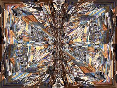 Parquet Mania Print by Tim Allen
