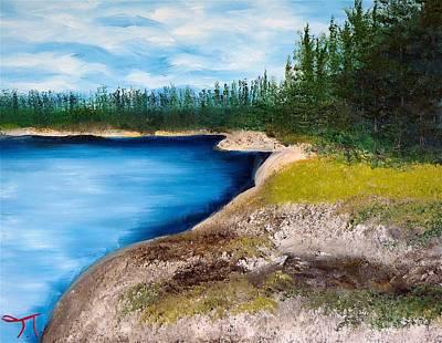 Parr Lake Atikaki Original by Troy Thomas