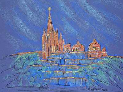 Parroquia From Below Art Print by Marcia Meade
