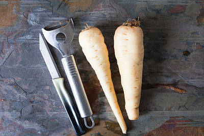 Photograph - Parsnips by Tom Gowanlock