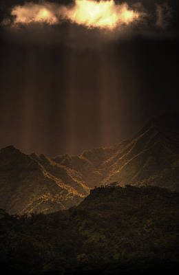 Photograph - Part Ye Gates Of Heaven by Joshua Cramer