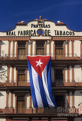 Cigar Factory Photograph - Partagas Cigar Factory by James Brunker